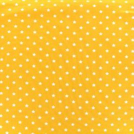 Tissu jersey Poppy Star Party - jaune x 10cm
