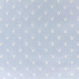 Tissu coton popeline Royal - bleu ciel x 10cm