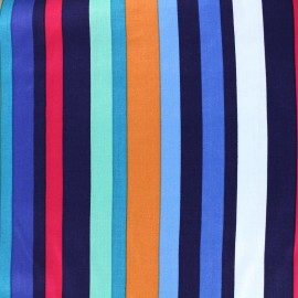 Tissu viscose Playa - multi x 10cm