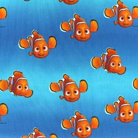 Jersey fabric Disney Disney Nemo - blue x 15cm