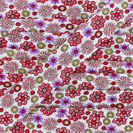 Bias Flower Power 25 mm - red x 1m