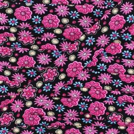 Bias Flower Power 25 mm - black x 1m